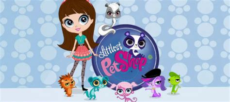 la serie de dibujos littlest pet shop en disney channel