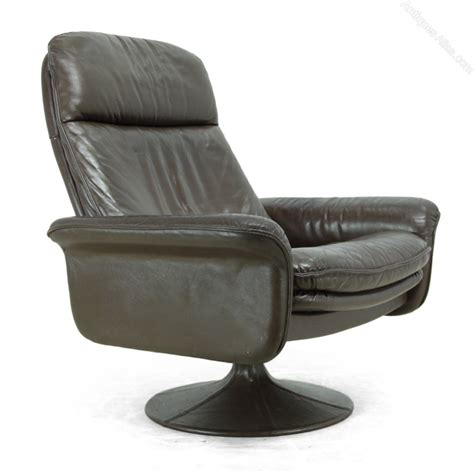 Antiques Atlas Leather Swivel Chair By De Sede C1970 Swivel Chair