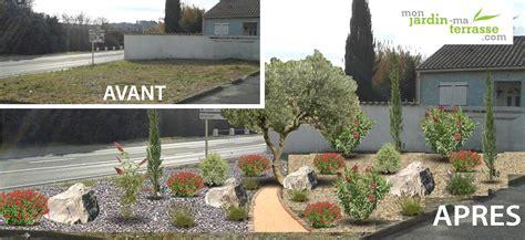 Idee Agencement Jardin by Idee Amenagement De Jardin Exterieur