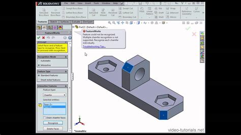 solidworks tutorial nederlands 2014 how to use partial recognition 1 solidworks tutorials