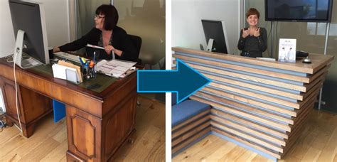 Why We Have Moved To A Standing Desk Stand Up Reception Desk