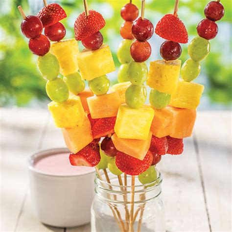 fruit kabobs fruit kabobs dip wegmans