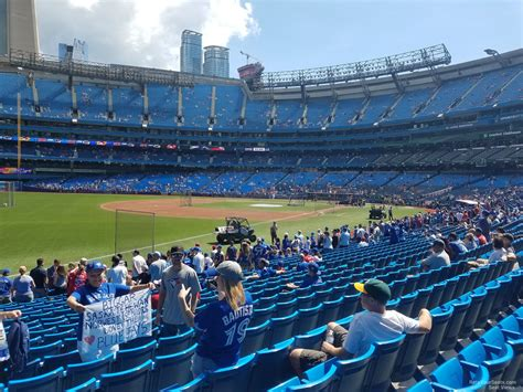 section 130 rogers centre rogers centre section 130c toronto blue jays