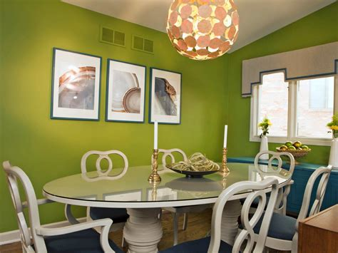 dining room with apple green walls and beautiful curtains photo page hgtv