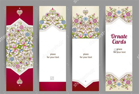 printable bookmarks design blank bookmark template 135 free psd ai eps word