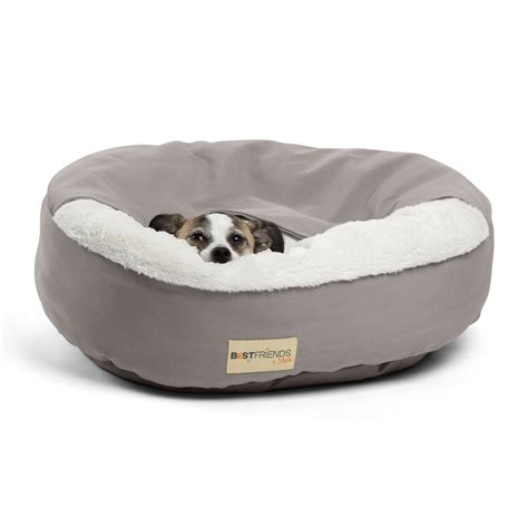 cuddler dog bed best friends by sheri cozy cuddler dog bed reviews wayfair