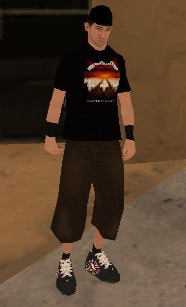 Tshirt Metallica Putih gta gaming archive