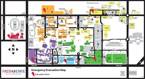 Fresno Search Cus Evacuation Map
