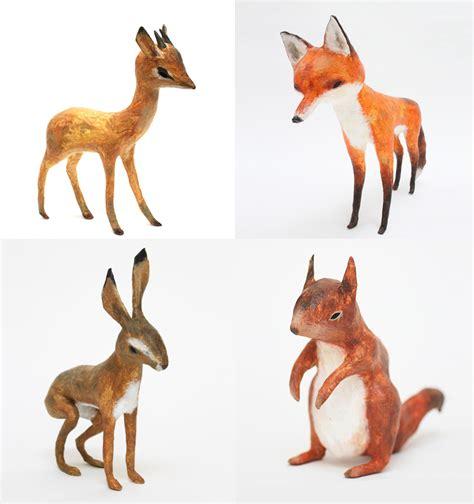 Make Paper Mache Animals - papier m 226 ch 233 animals by abigail brown is a way