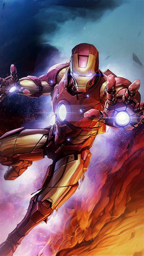 bh ironman hero marvel art wallpaper