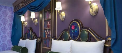 beauty and the beast inspired bedroom photos tokyo disneyland hotel opens new cinderella themed
