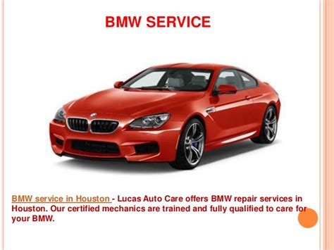 Bmw Service Houston by Bmw Repair Houston