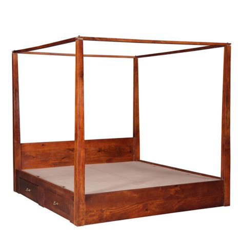 letto matrimoniale a baldacchino legno letto baldacchino mogano letti orientali