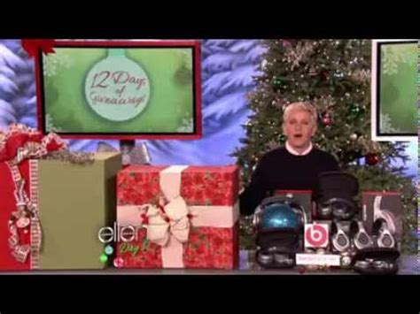 Ellen 12 Days Of Giveaways 2013 - holly berry halle berry mascot reveal for ellen degeneres 12 days of giveaways 2012