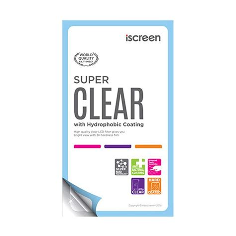 Samsung Galaxy S6102 Anti Gores Clear jual indoscreen iscreen anti gores screen protector for