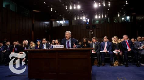 neil gorsuch new york times neil gorsuch surpreme court confirmation hearings day 3