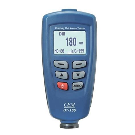 Digital Coating Thickness dt 156 digital paint coating thickness meter tester 0 1250um alex nld