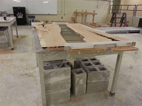 cherry and concrete dining table concrete concrete