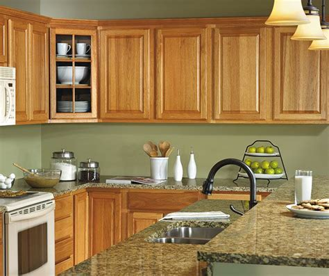 kitchen colors with hickory cabinets hickory kitchen cabinets by aristokraft cabinetry