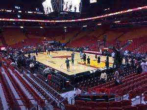 american airlines arena sections american airlines arena section 103 home of miami heat