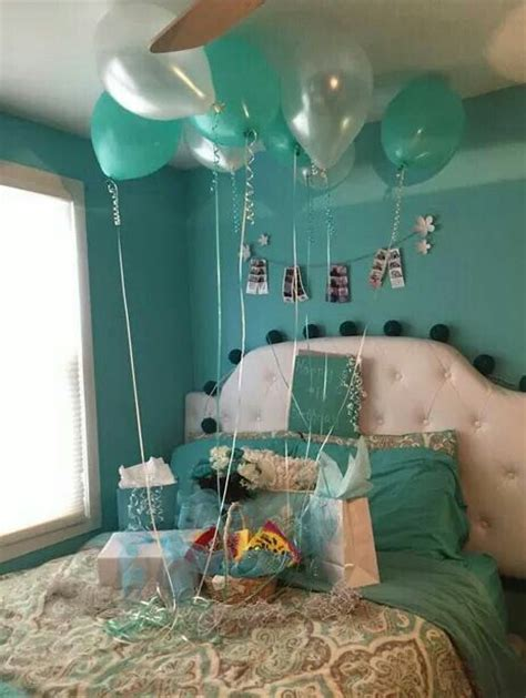 party in your bedroom 25 best ideas about birthday room surprise on pinterest