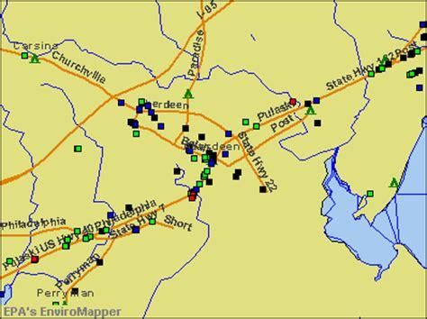maryland map aberdeen aberdeen maryland md 21001 21078 profile population