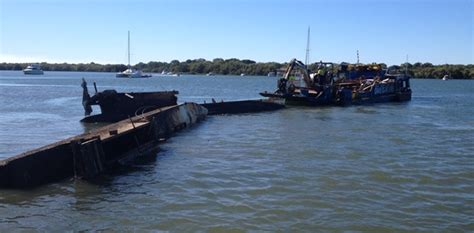 boat salvage equipment marine salvage boat salvage caboolture river