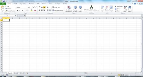 How To Use Excel 2010 Spreadsheets by How To Create A Spreadsheet In Excel 2010 Bloggtech