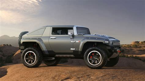 Mobil Blazer New hummer hx concept car design