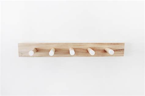 simple coat rack diy simple wood coat rack almost makes perfect
