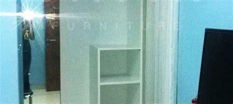 Cermin Per Meter lemari pakaian sliding 2 pintu kitchen set jakarta