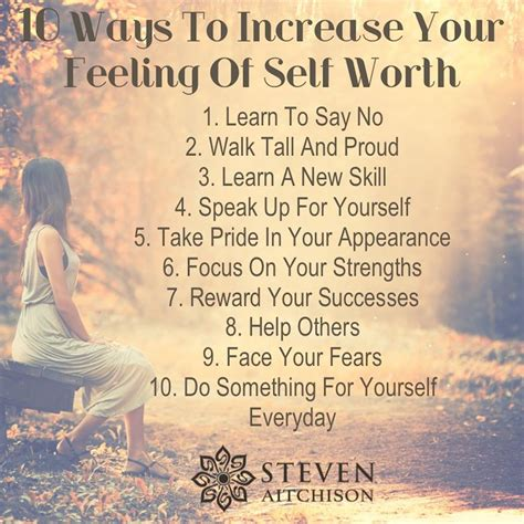 8 Ways To Stand Up For Yourself by 10 Ways To Increase Your Self Worth
