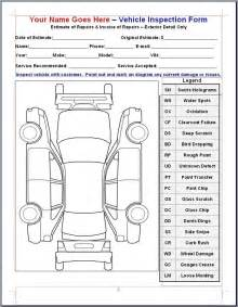 vehicle inspection form template musicax org