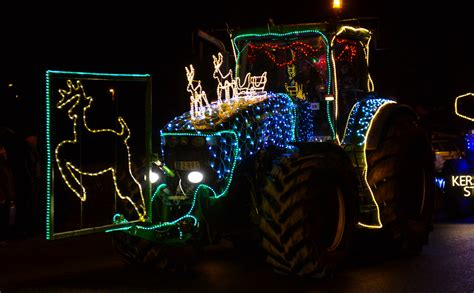 tractor christmas run part 1 jan bens