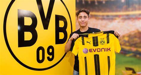 Table Matters Borussia Dortmund Sign Emre Mor Bvb De