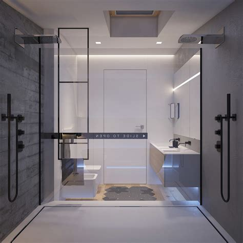 bedroom flat  kiev  sleek contemporary features