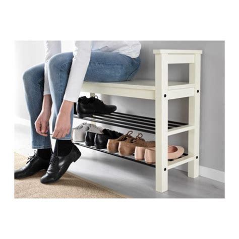 Ikea Hemnes Bangku Dengan Tempat Sepatu 85x32 Cm Putih T1310 1 hemnes bench with shoe storage white 85x32 cm ikea