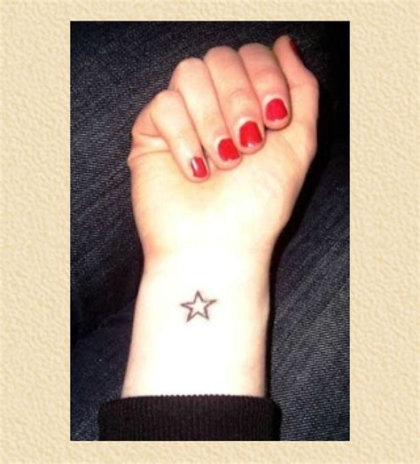 easy tattoo on wrist simple star tattoo on wrist mac pinterest simple