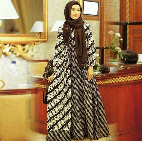 Longdress Batik Pesta Batik Modern contoh setelah baju pesta untuk remaja model baju batik