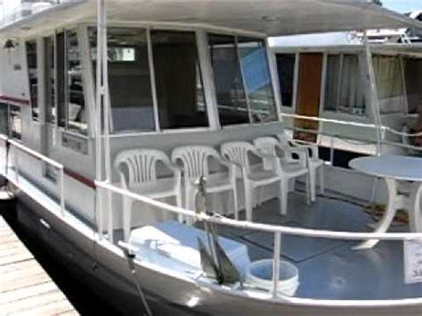 river queen house boat 1970 40 river queen houseboat for sale at watergate marina 18 900 youtube