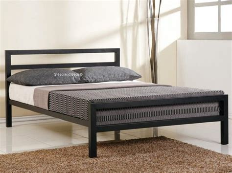 black metal bed frame 1000 ideas about metal bed frames on metal