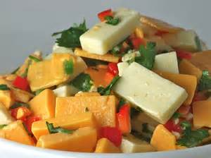 God Of Comfort Touchdown Thursdays Jalapeno Lime Marinated Cheese Salad