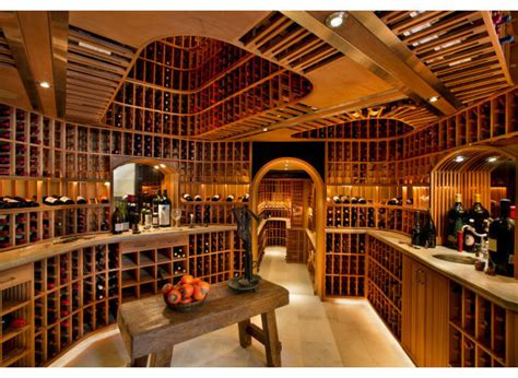 Wine Cellar Atlanta - the 10 most over the top wine cellars that money can buy photos huffpost