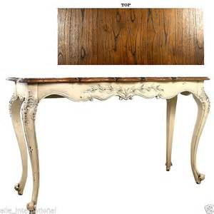 Antique White Console Table Console Table Country Antique White Distressed Mahogany Top Ne