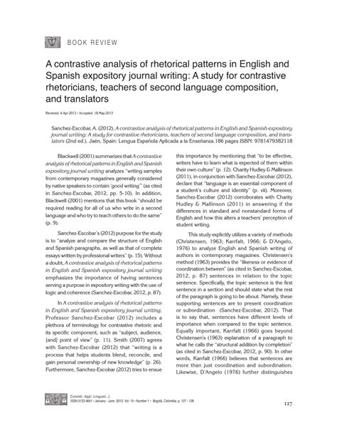 rhetorical pattern english a contrastive analysis of rhetorical patterns in english