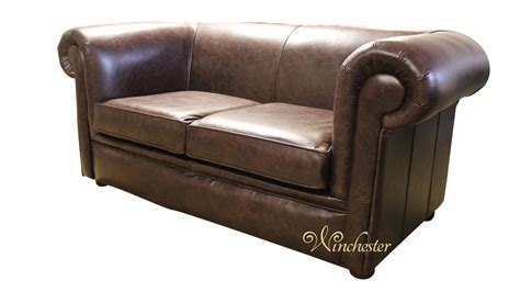 2 seater leather settee chesterfield 1930 2 seater settee old english bruciatto