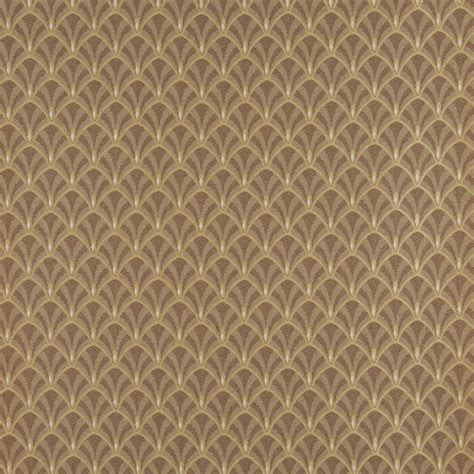 rattan upholstery fabric brown and beige fan jacquard woven upholstery fabric by