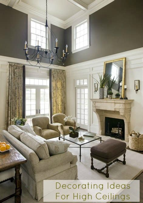 high ceiling decorating ideas cottage and vine decorating ideas for high ceilings