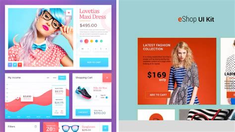 ecommerce app ui free psd download download psd 40 free ecommerce ui kit psd sketch files download