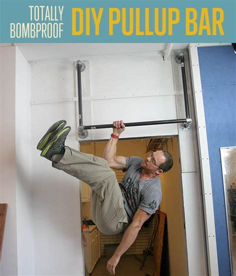 Build A Backyard Pull Up Bar How To Make A Bombproof Pullup Bar Diy Fitness Diy Ready